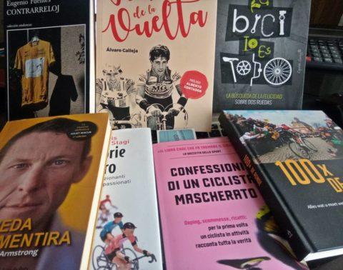 Libros de ciclismo para pasar la cuarentena