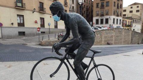 Mascarilla para ciclismo. Solo en determinadas ocasiones