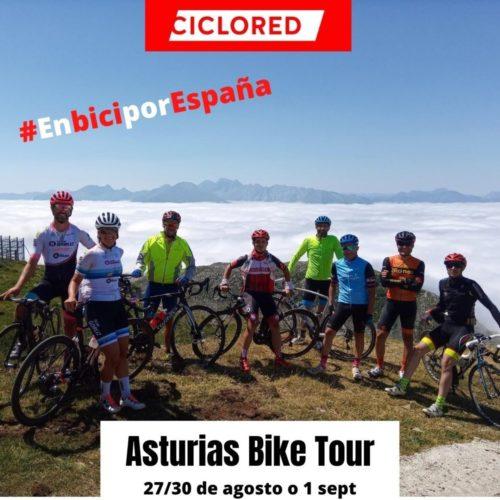 Asturias Bike tour agosto 2