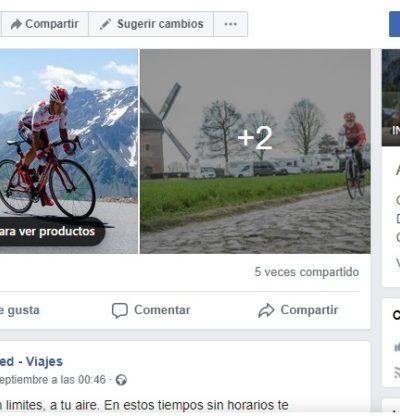 Facebook Ciclored