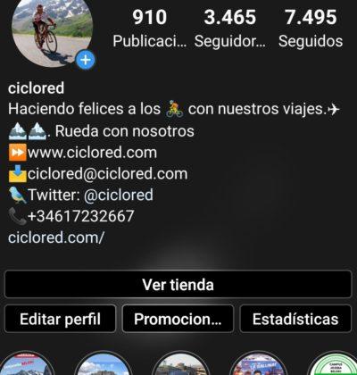 Instagram Ciclored