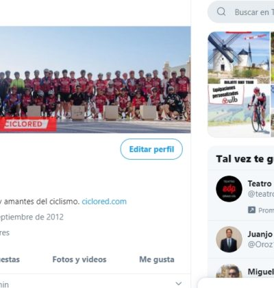 TWITTER Ciclored