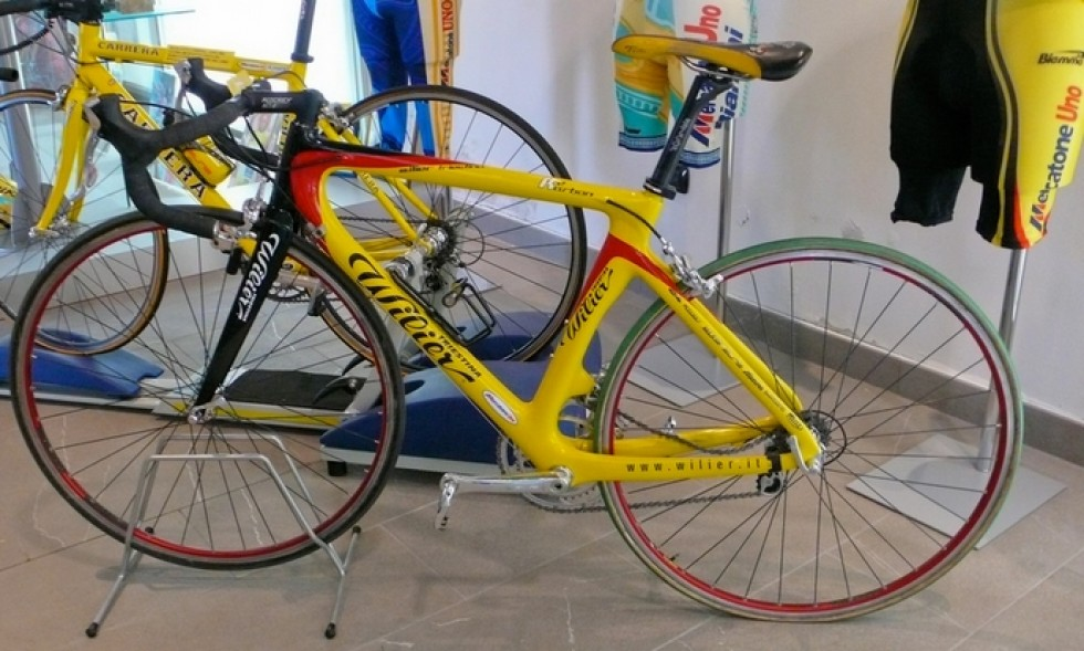 Las bicicletas de Marco Pantani - MerKabici